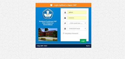 Panduan Cara Update E-Raport SMP Dari Tapel 2018/ 2019 ke 2019/ 2020