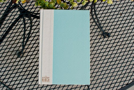 CSB Study Bible For Women in Turquoise Aqua Blue Hardcover