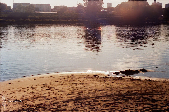 plaża nad wisłą, saska kępa, wisła, rzeka, warszawa