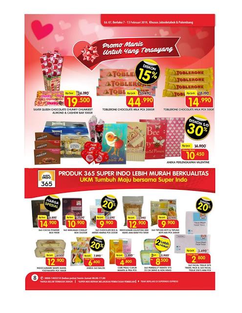 Katalog Super Hemat Super Indo Jabodetabek dan Palembang 7 Februari sampai 13 Februari 2019
