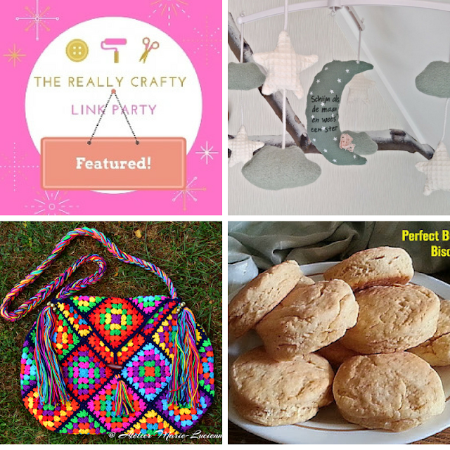 The Really Crafty Link Party #130 featured posts