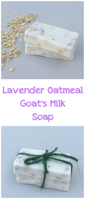 Lavender Oatmeal Goat's Milk Soap DIY