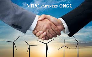 NTPC signs MoU with ONGC for Renewable Energy Business