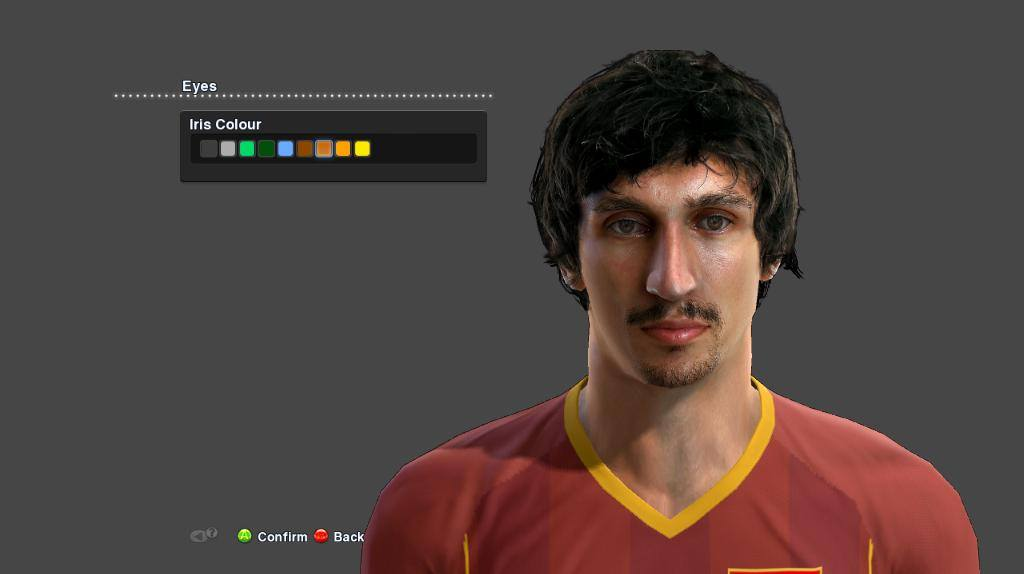 PES 2013 S. Savic Face by Facemaker Parker_7