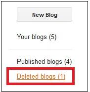 Blogger SEO Tips