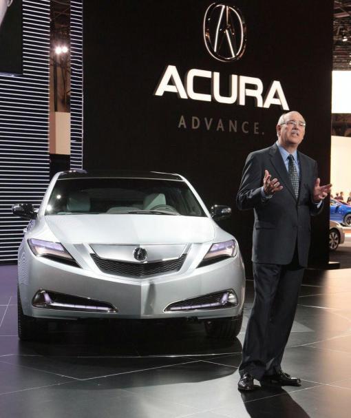 ELEGANT Acura ZDX Concept (2009