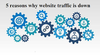 Top 5 reasons why website traffic is down in hindi step by step | delhi technical hindi blog !