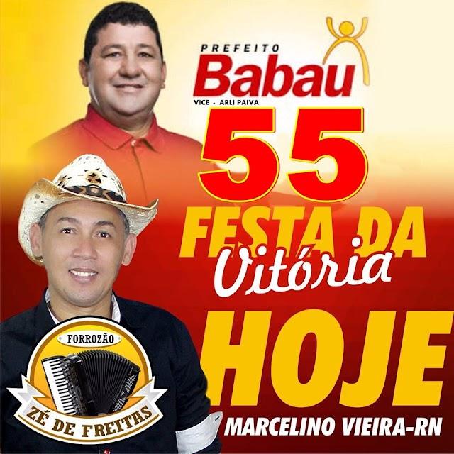 Festa da Vitória de Babau e Arli é neste sábado (08)!
