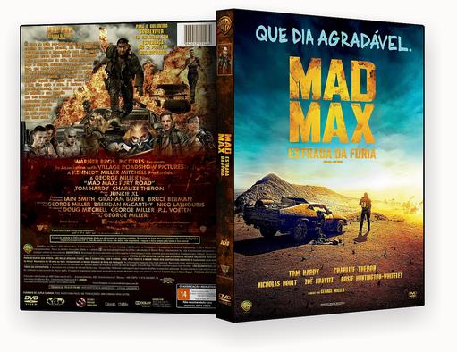 CAPA DVD – Mad Max Estrada Da Furia 2015 DVD-R