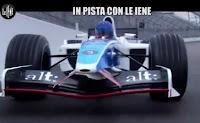 Logo ''In pista con Le Iene'': vinci gratis un giro sulla leggendaria Arrows A18 sul circuito di Monza