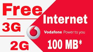 vodafone free internet