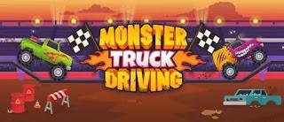 Canavar Kamyonet Sürüşü - Monster Truck Driving
