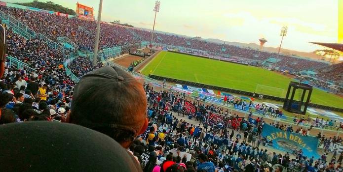 Waduh, Keanehan Ini Terjadi di Stadion Kanjuruhan saat Arema FC vs Persib