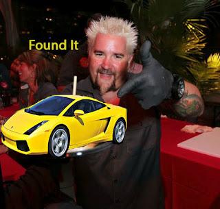 Guy Fieri Lamborghini