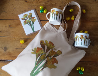 Daffodil Gifts by Alice Draws The Line