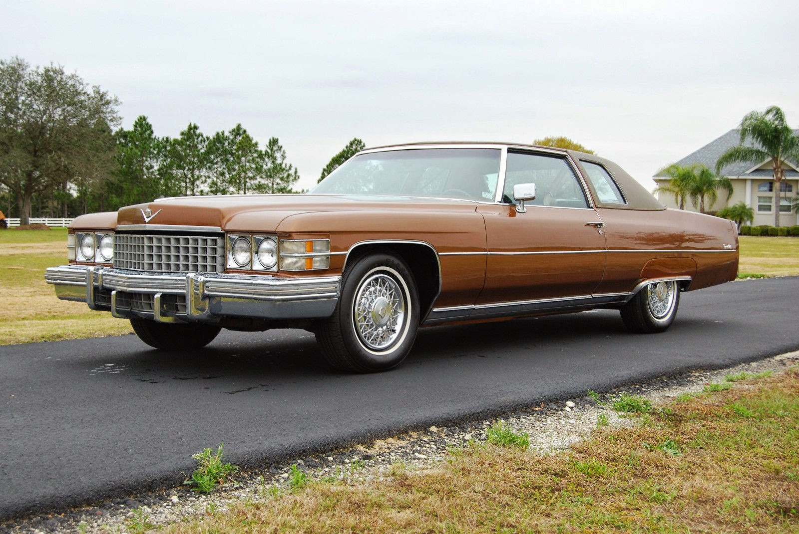 All American Classic Cars: 1974 Cadillac Coupe de Ville 2 ...