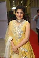 Nivetha Thamos in bright yellow dress at Ninnu Kori pre release function ~  Exclusive (33).JPG