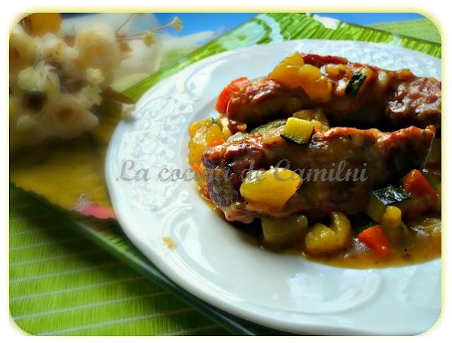 Costillas a la provenzal (La cocina de Camilni)