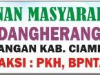 Download Spanduk Pos Pelayanan Publik Format CDR