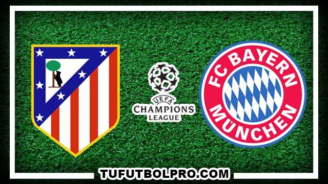Ver Atlético Madrid vs Bayern Munich EN VIVO Por Internet Hoy 28 de Septiembre 2016