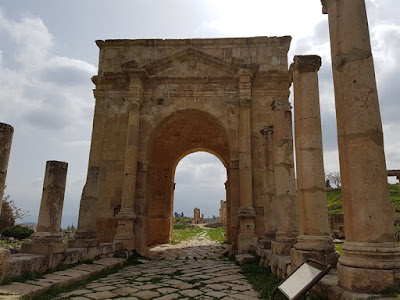 Tetrápilo de Jerash