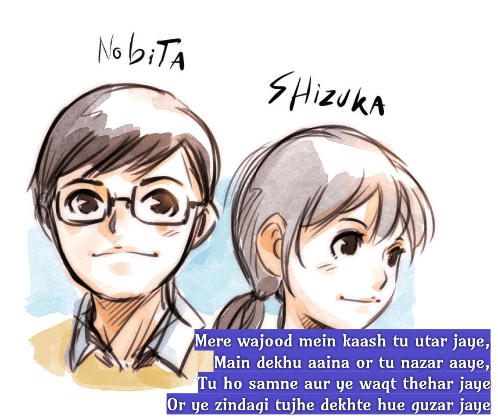nobita shizuka pic hd