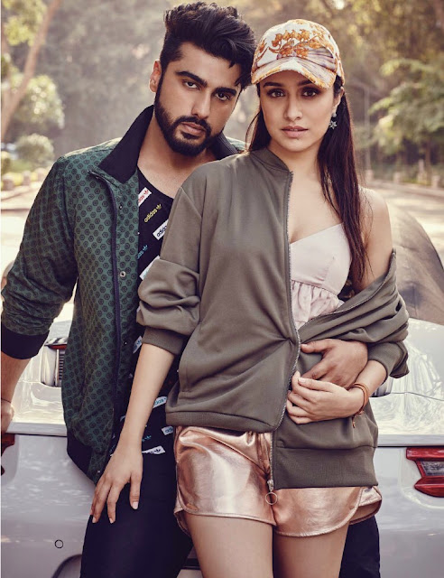 Arjun Kapoor and Shraddha Kapoor - Filmfare May 2017