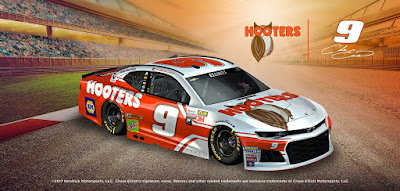 Hooters Rewards #NASCAR Race Fans with Every Chase Elliott Top-10 Finish