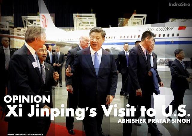 OPINION | Xi Jinping's Visit to U.S. by Abhishek Pratap Singh