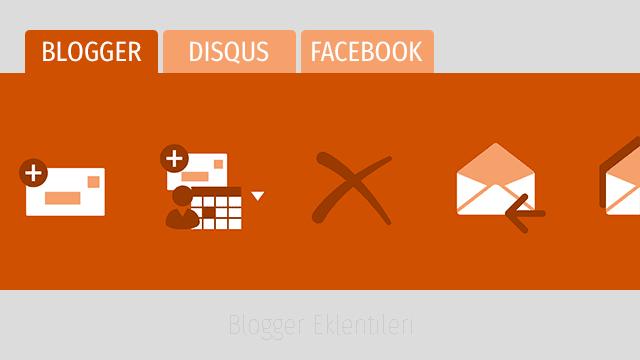 Blogger için Disqus, Blogger ve Facebook Yorum Sistemi Eklentisi