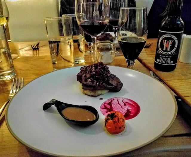 Sherlocks of Tubbercurry medallions of beef prepared by Eala Bhán restaurant in County Sligo, Ireland