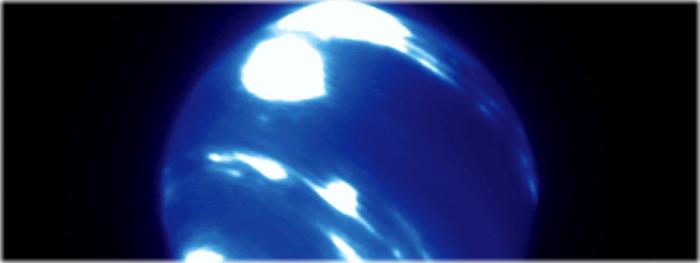 tempestade gigantesca surgiu em Netuno - 2017