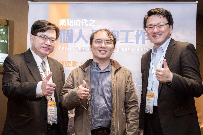 (左起)邱建勳醫師、唐嘉宏醫師、蔡依橙醫師