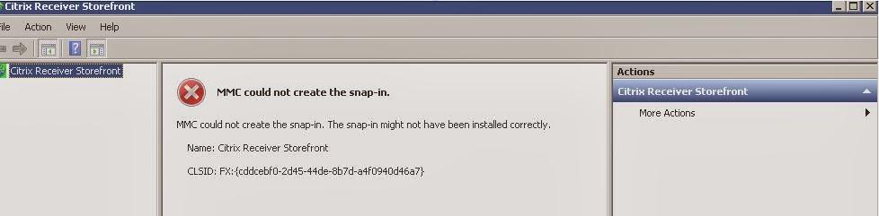 Storefront Server MMC loading/ crash issues |Virtualcloudz