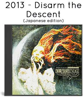 2013 - Disarm the Descent (Japanese edition)