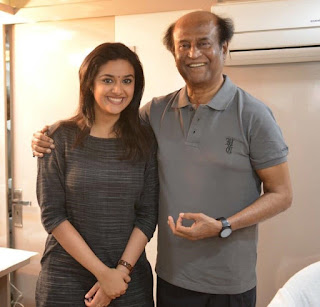 Keerthy Suresh Wishing Happy Birthday Super Star Rajinikanth Sir 1