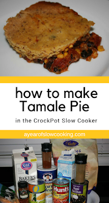 Tamale Pie casserole is a great way to use up leftovers in the house. This is a gluten free and vegetarian version that can be made easily in the crockpot slow cooker.