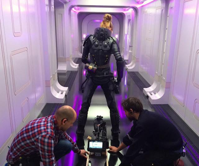 Imagen del rodaje de la película Valerian y la ciudad de los mil planetas que ha sido dirigida por Luc Besson