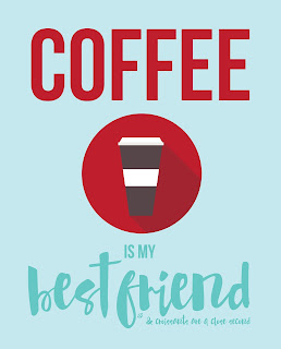 ©LostBumblebee MDBN : Printable : Coffee is my Best Friend : Personal use only |  www.lostbumblebee.net