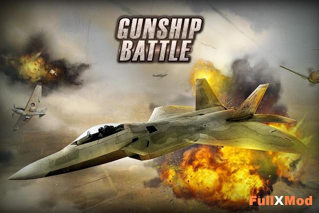 GUNSHIP BATTLE Helicopter 3D Mod APK Terbaru 2017