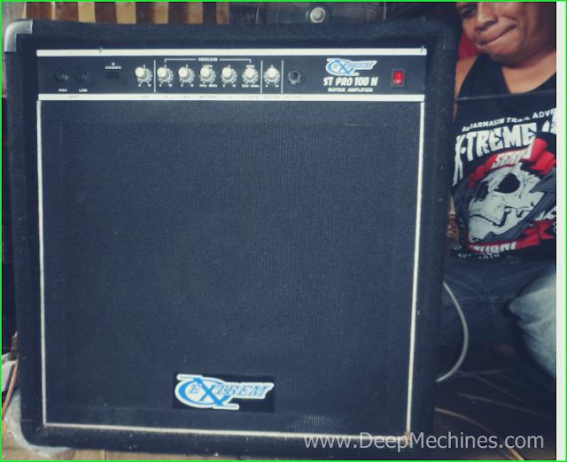 Guitar Amplifier Box EXTREM ST PRO 100 N selesai Perbaikan