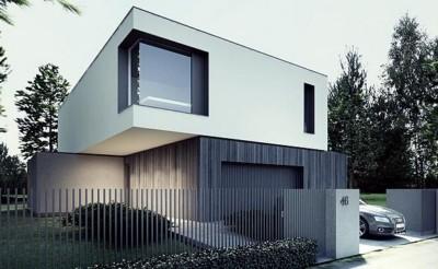ide rumah futuristik minimalis