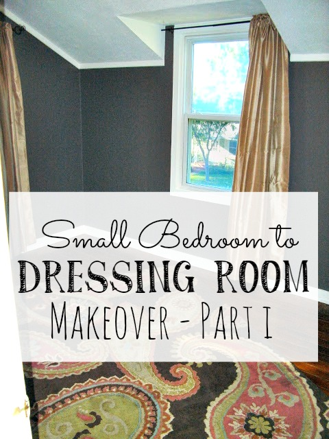 Turning an unused spare bedroom into a glamorous dressing room