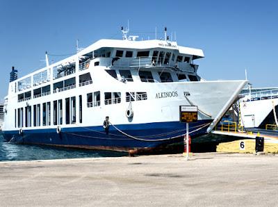 Ηγουμενίτσα: Μηχανική βλάβη στον καταπέλτη πλοίου