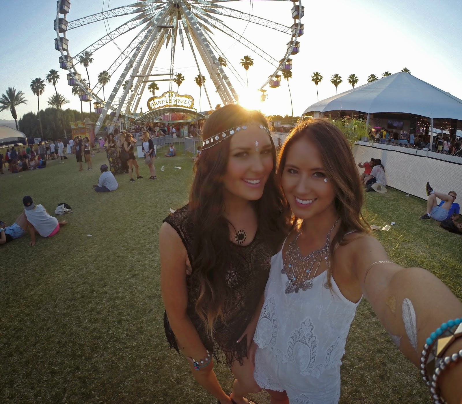 Fashion blogger Mash Elle and Boho Nouveau festival fashion at Coachella - Peace & Love: Coachella Outfits by popular Orlando fashion blogger Mash Elle