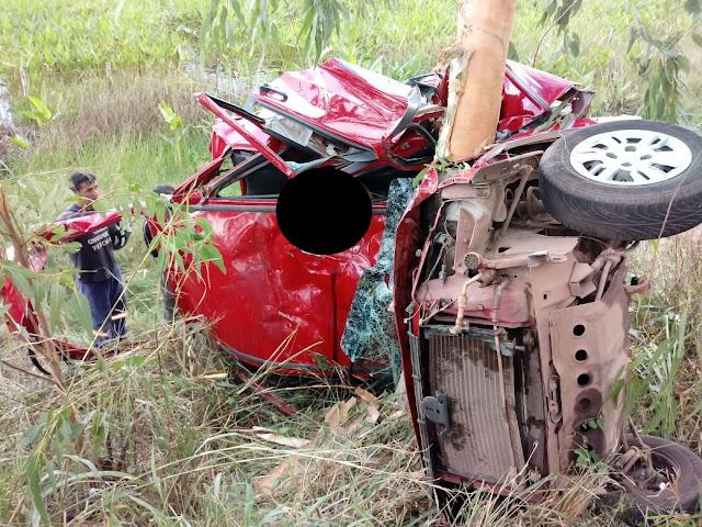 No Maranhão, motorista morre após colisão contra árvore na BR-222