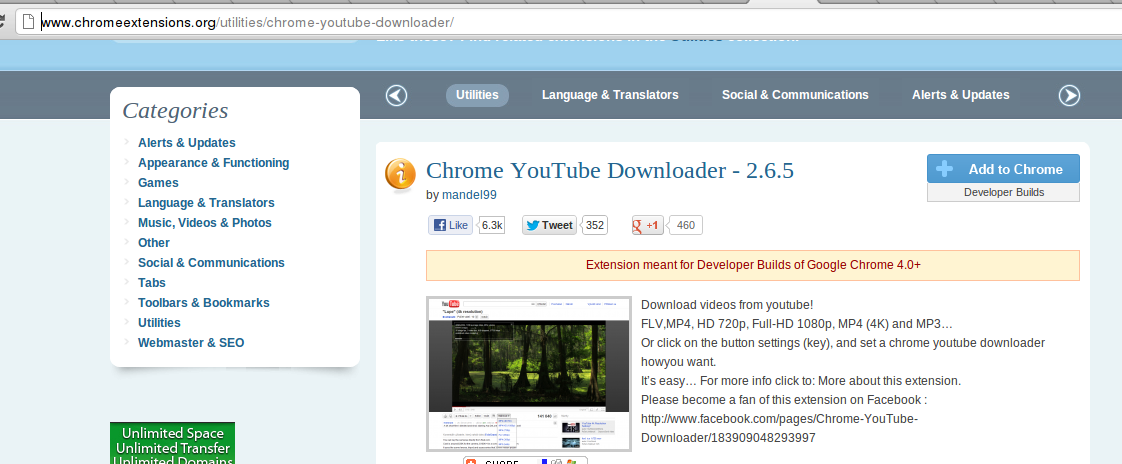 How to download Youtube videos using Google Chrome?: How to install