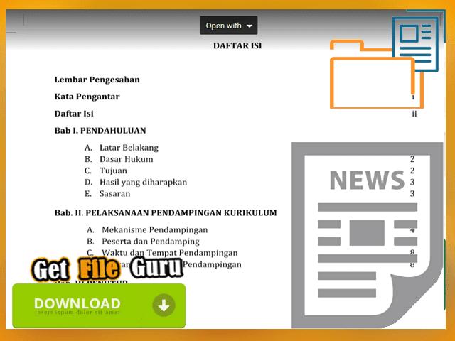 Download Contoh Proposal Bantuan Pemerintah Tentang Pendampingan Kurikulum 2013 Format Words