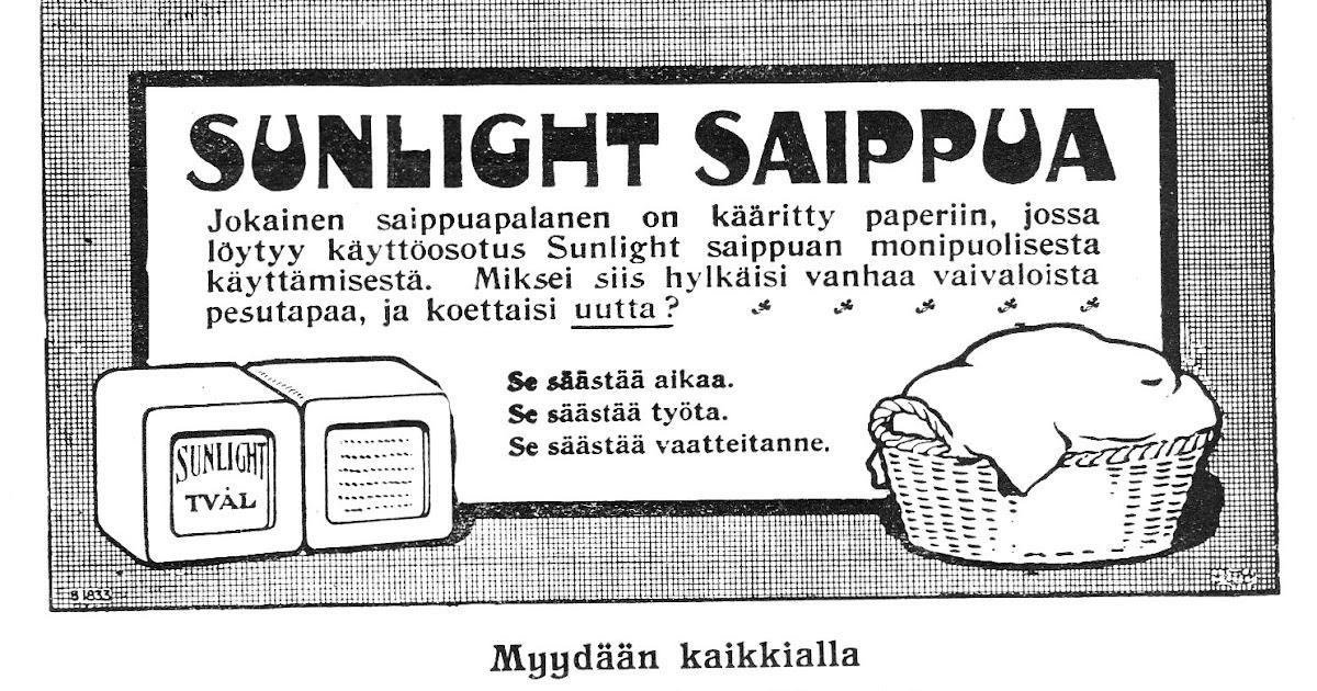 Sunlight Saippua