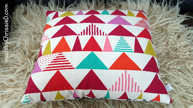 Tokyo Sunrise + Twilight Cushion with tutes @madebyChrissieD.com